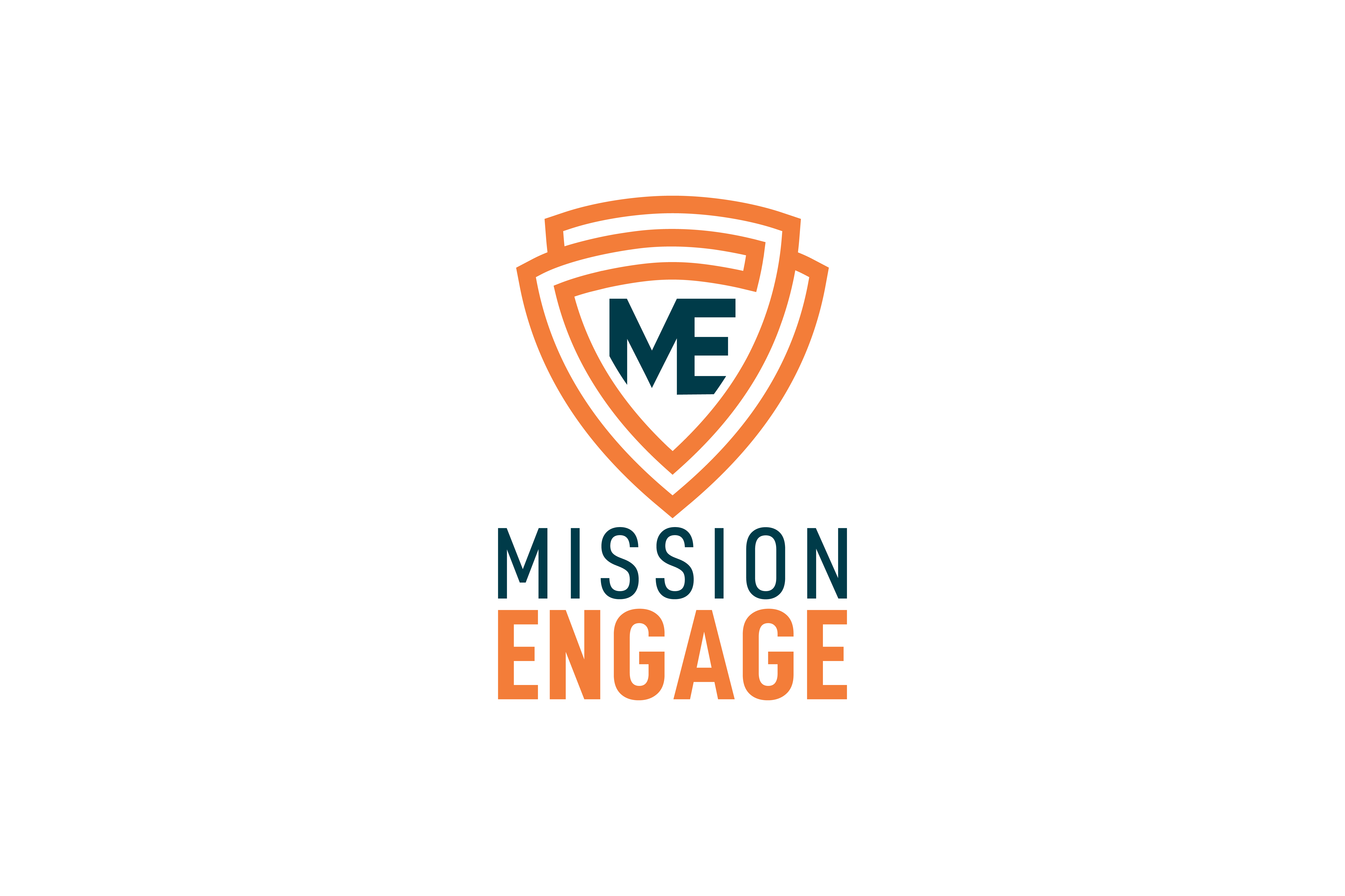 Logo design by Virtual Apiary for Mission Engage