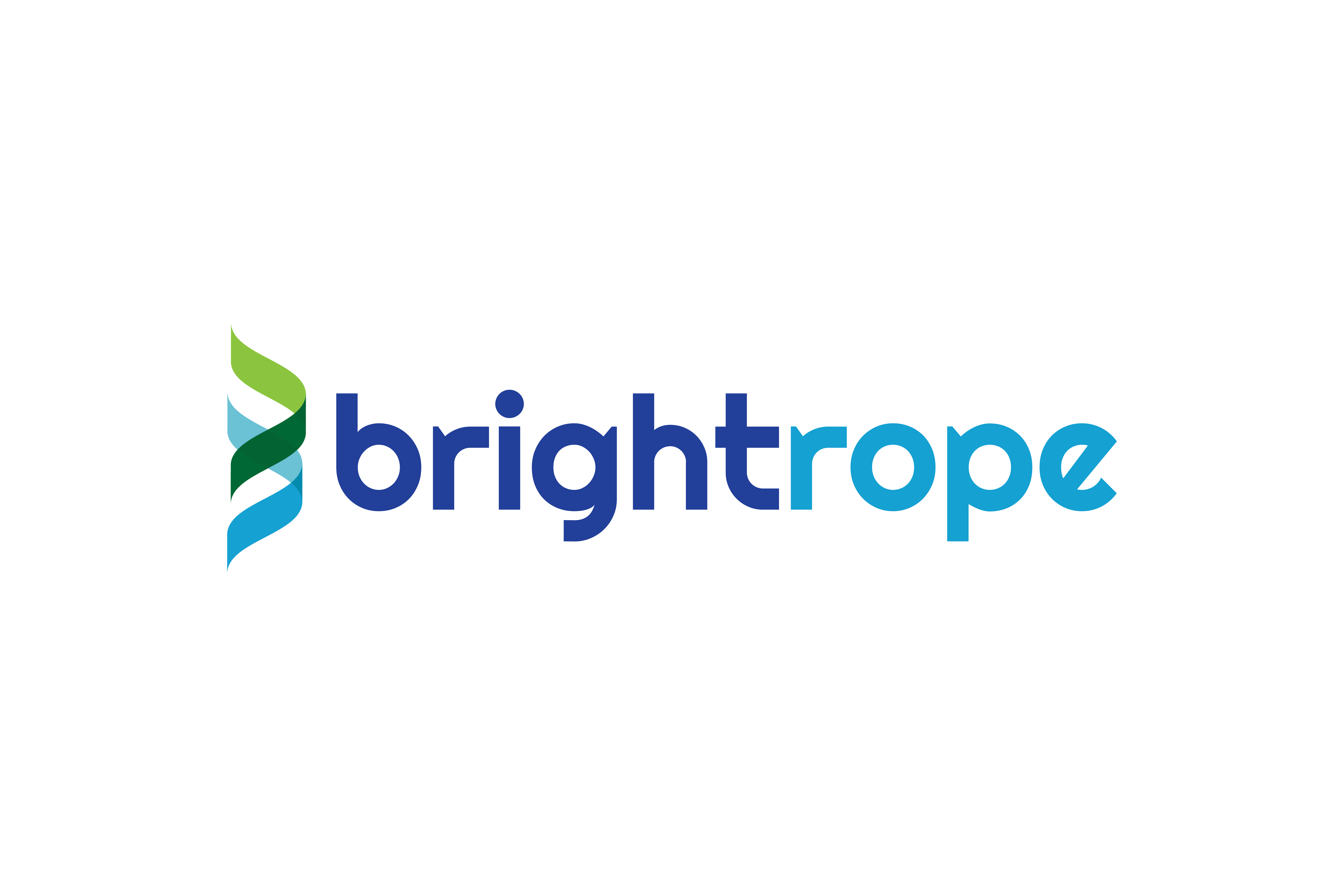 Logo design by Virtual Apiary for Brightrope