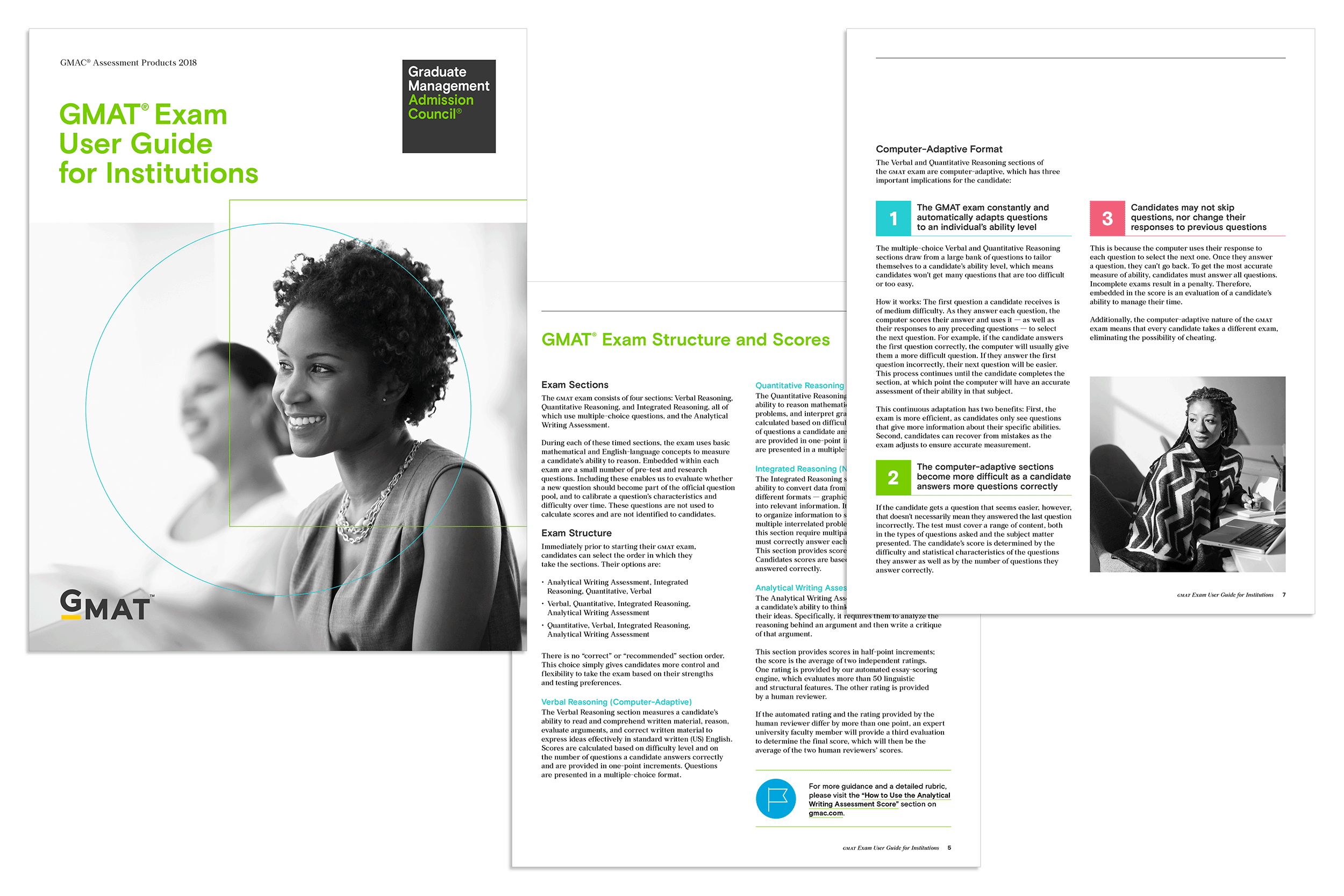 Brochure design by Virtual Apiary for GMAC
