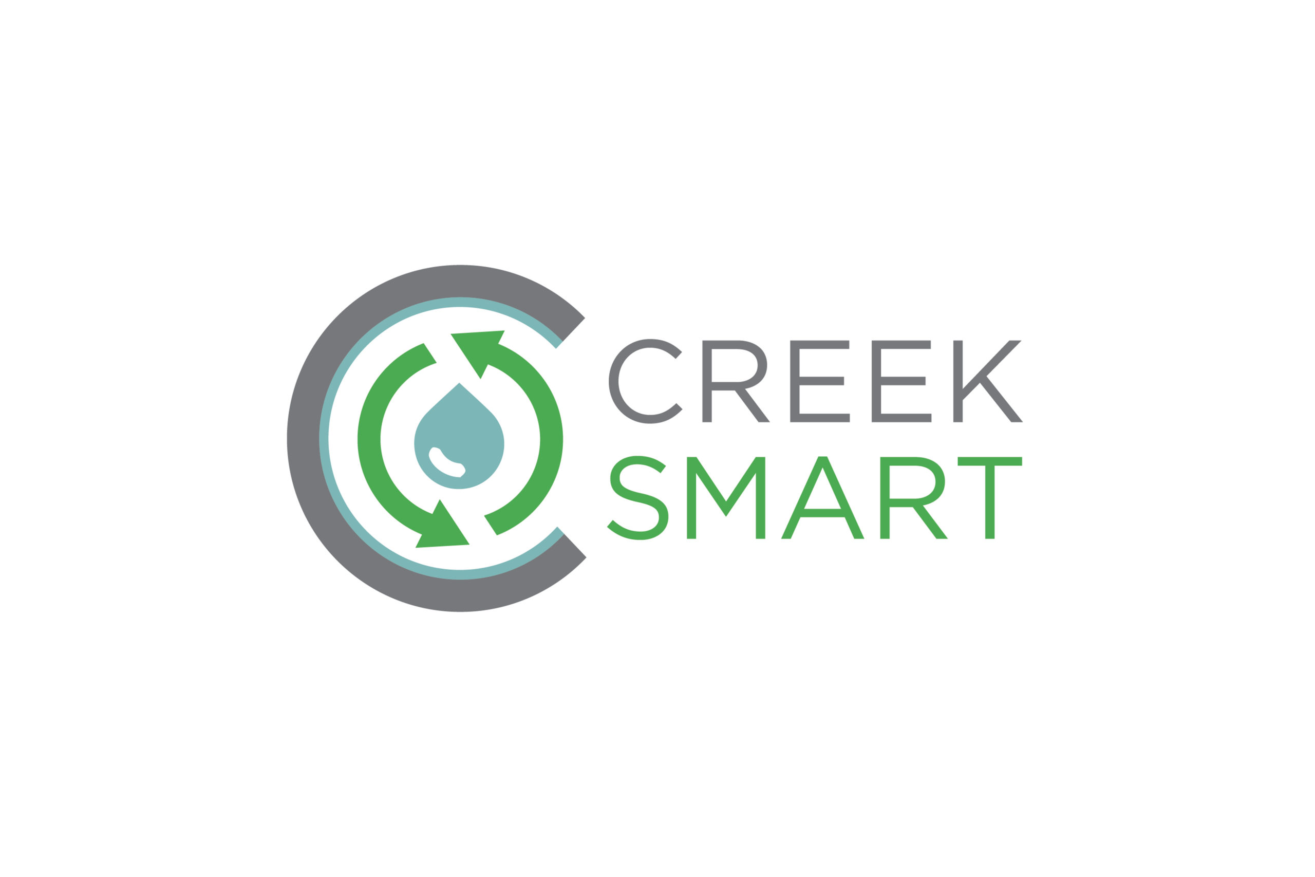 Logo design by Virtual Apiary for Creek Smart