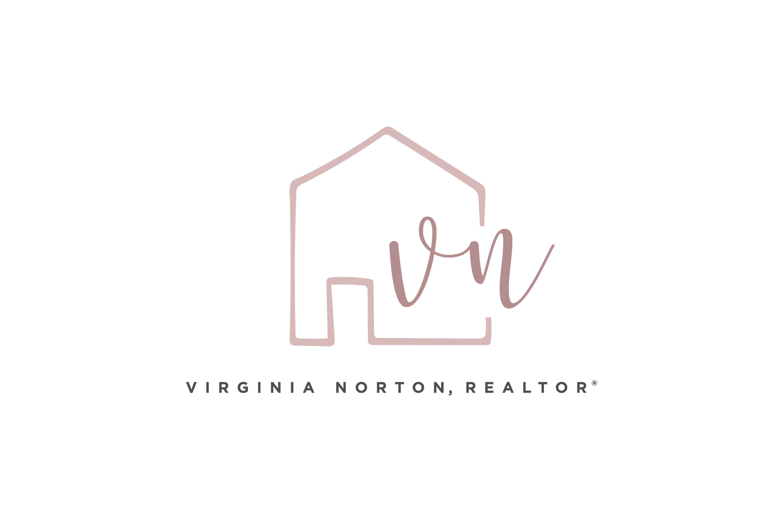 Logo design by Virtual Apiary for Virginia Norton, Realtor