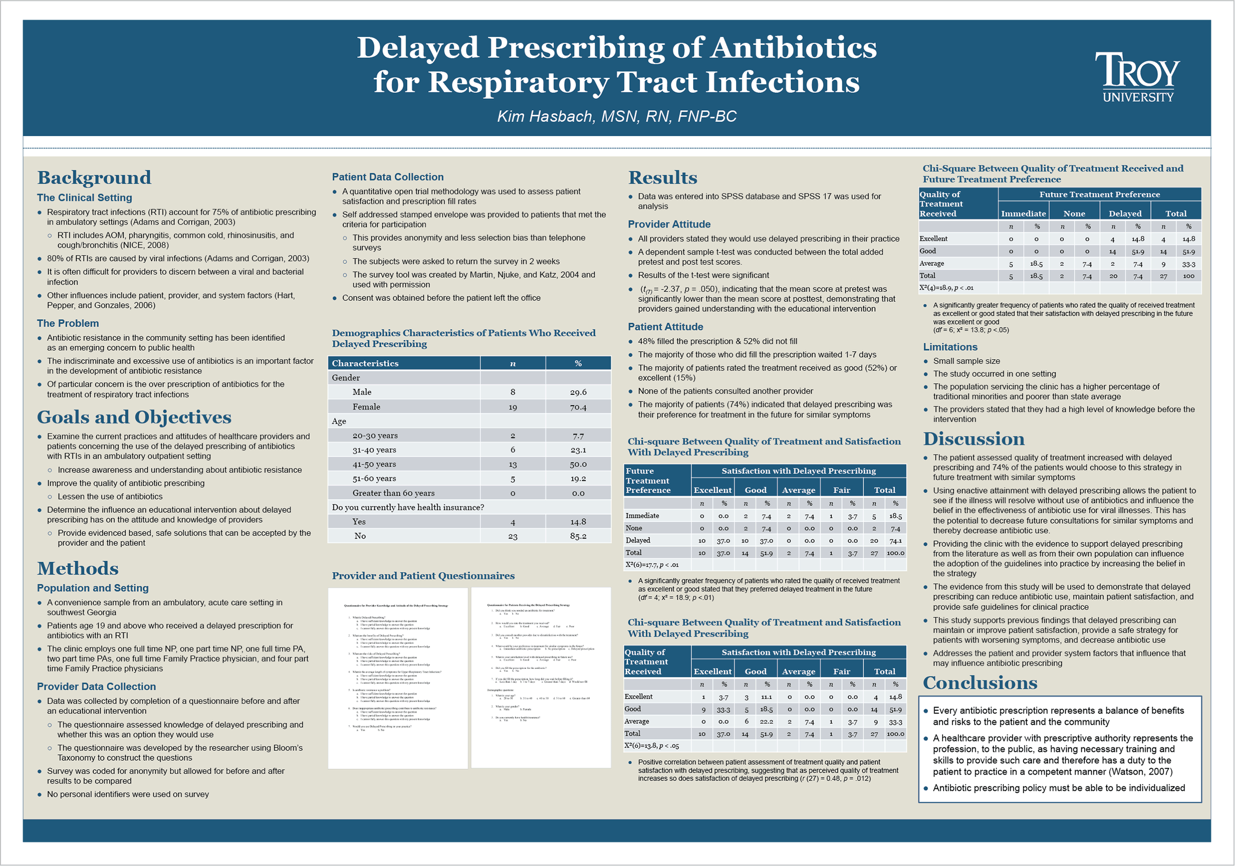 Research poster design by Virtual Apiary for Troy Hasbach