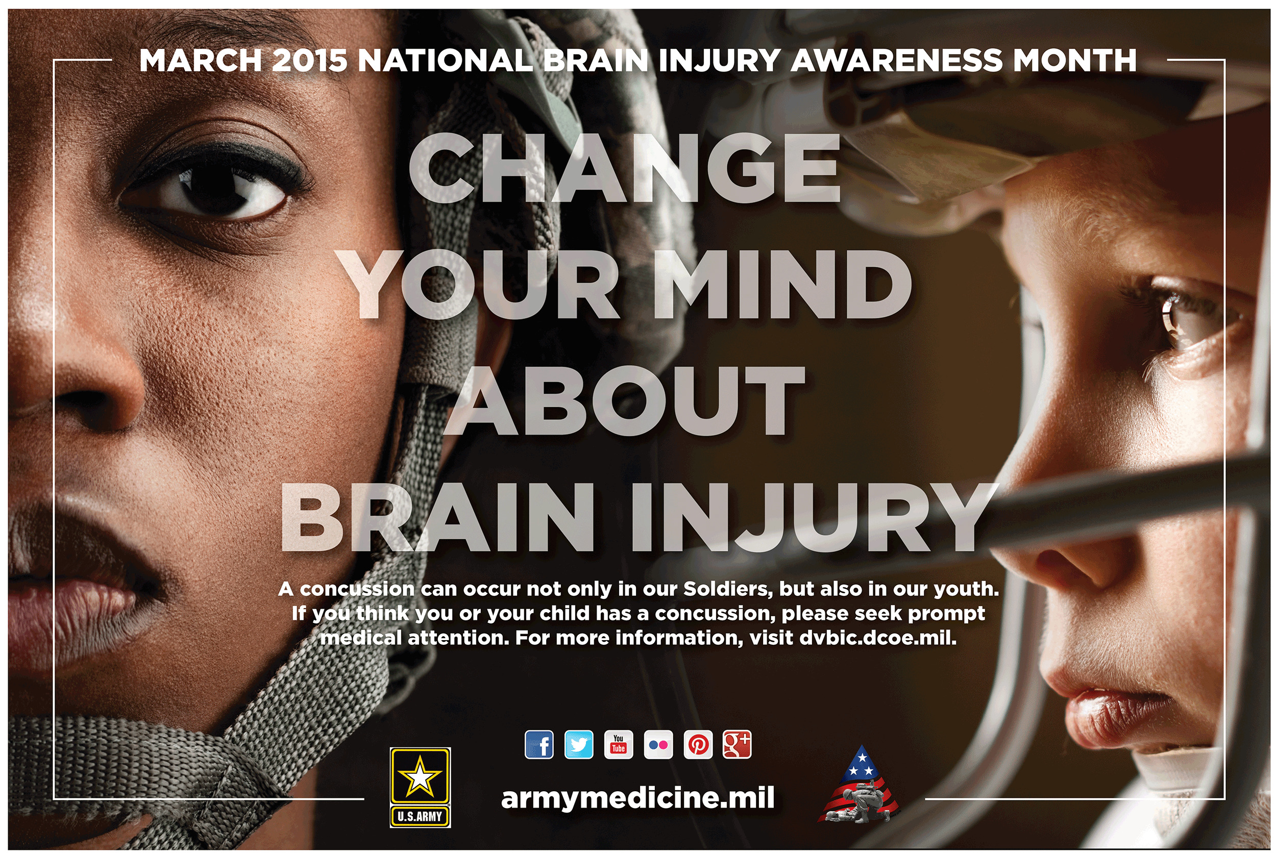 Poster design by Virtual Apiary for Army Medicine