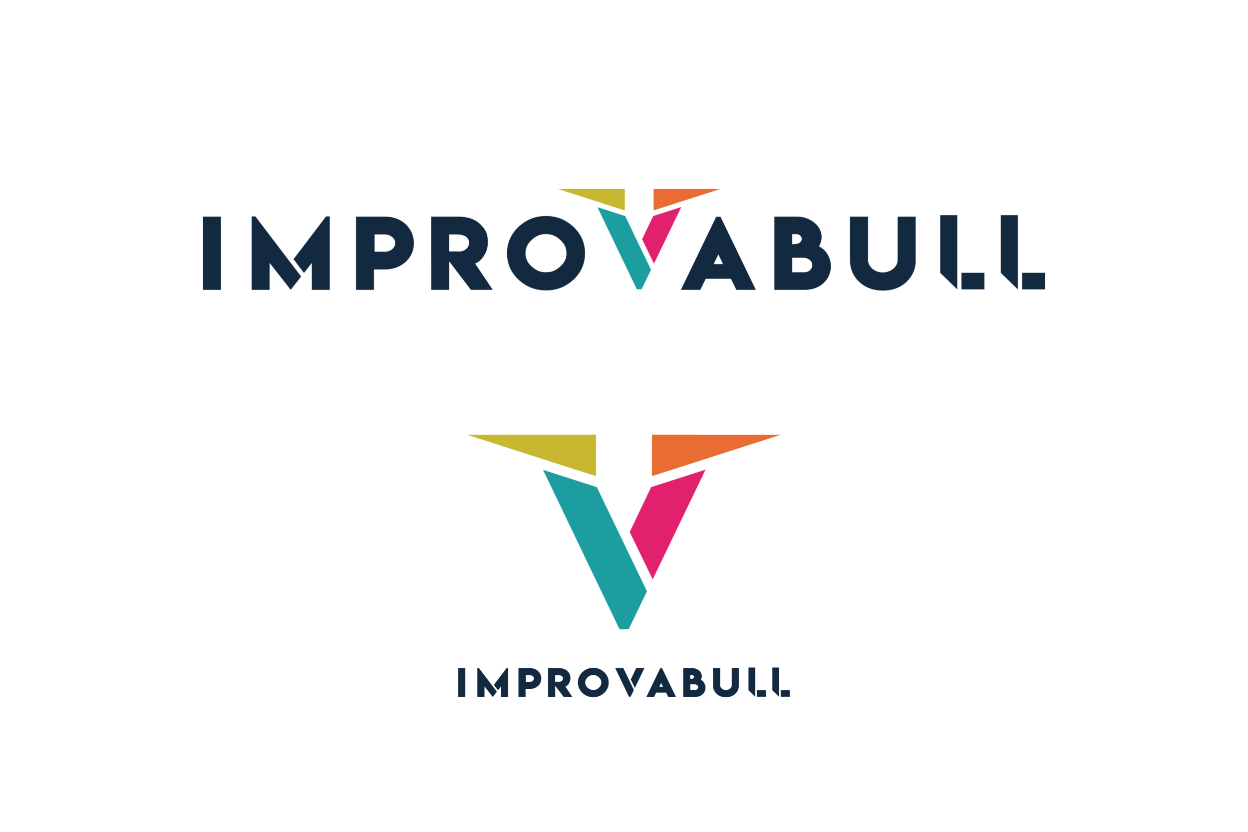 Logo design by Virtual Apiary for Improvabull