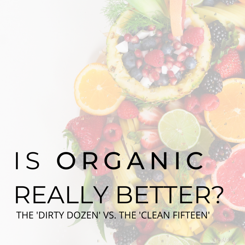 IS ORGANIC REALLY BETTER_