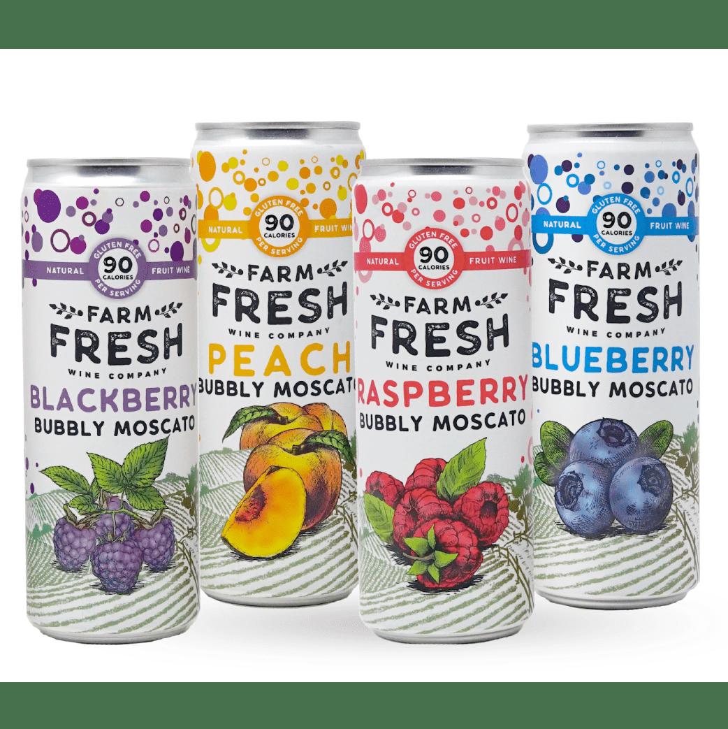 Farm Fresh Bubbly Moscato Cans