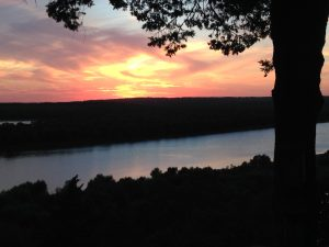 Sunsets over the River
