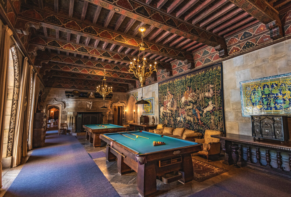 The Origins of the Game of Pool