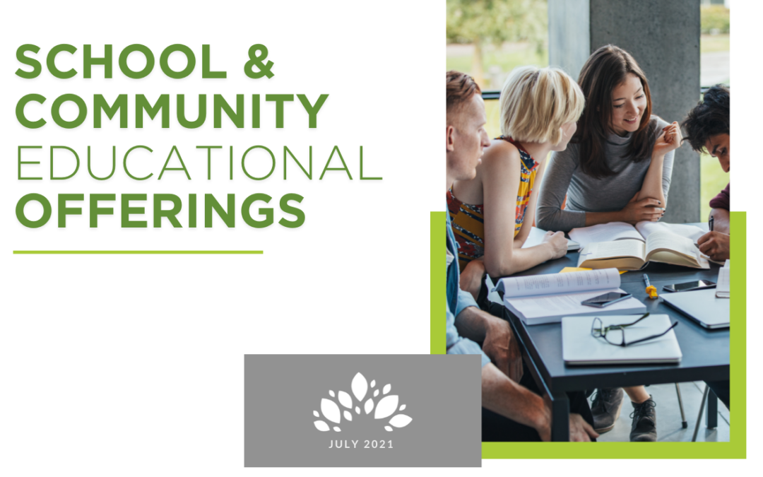 School and Community Social Educational Opportunities