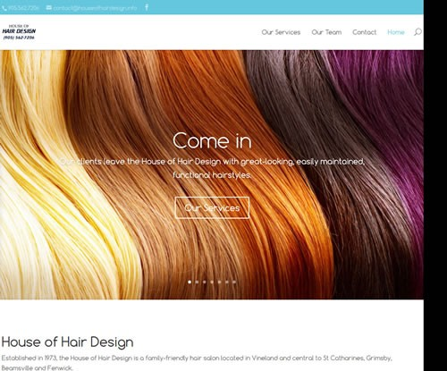 House Of Hair Design