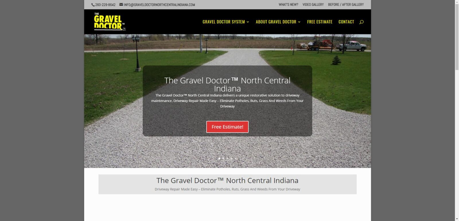 The Gravel Doctor® North Central Indiana