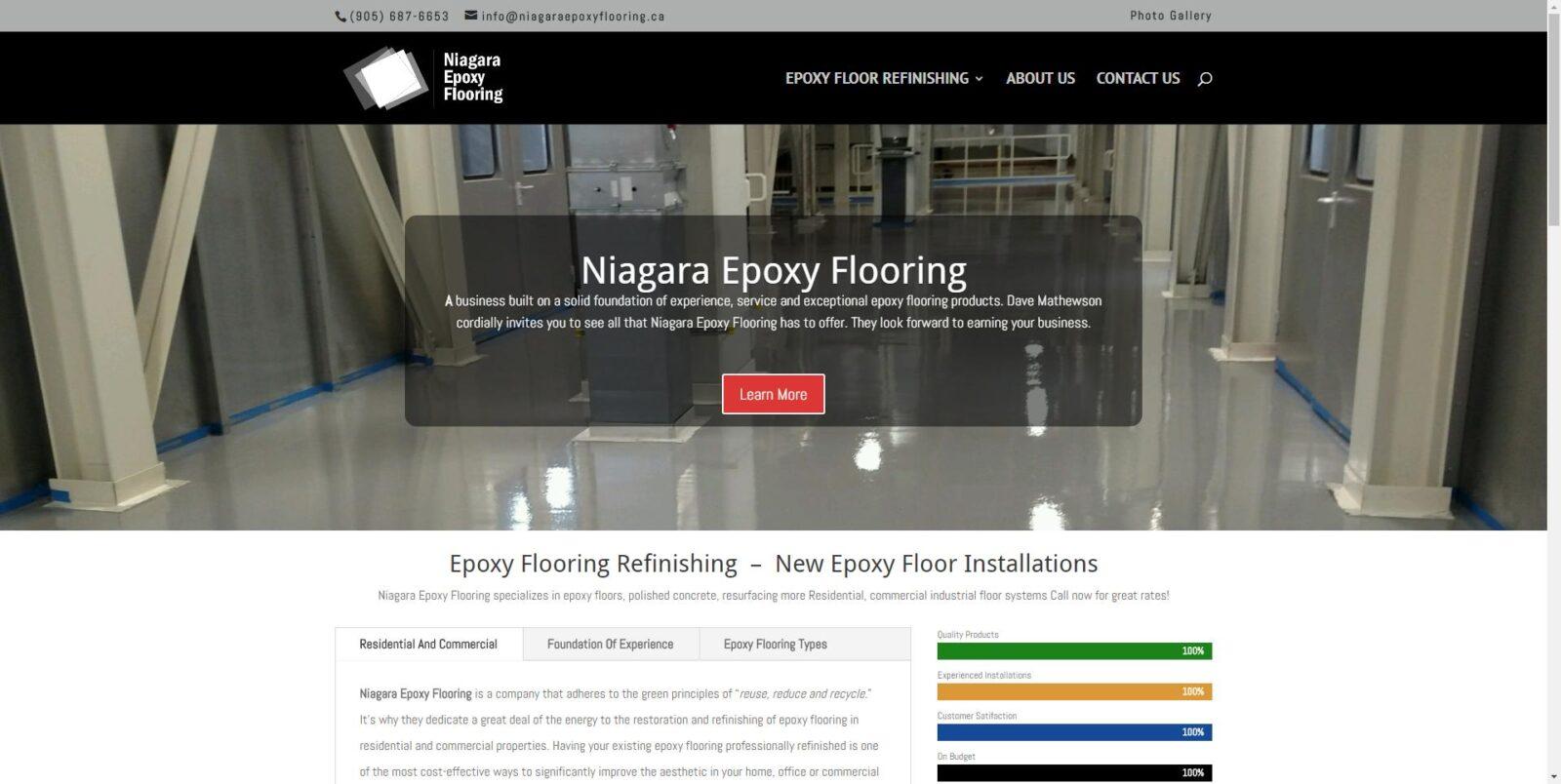 Niagara Epoxy Flooring