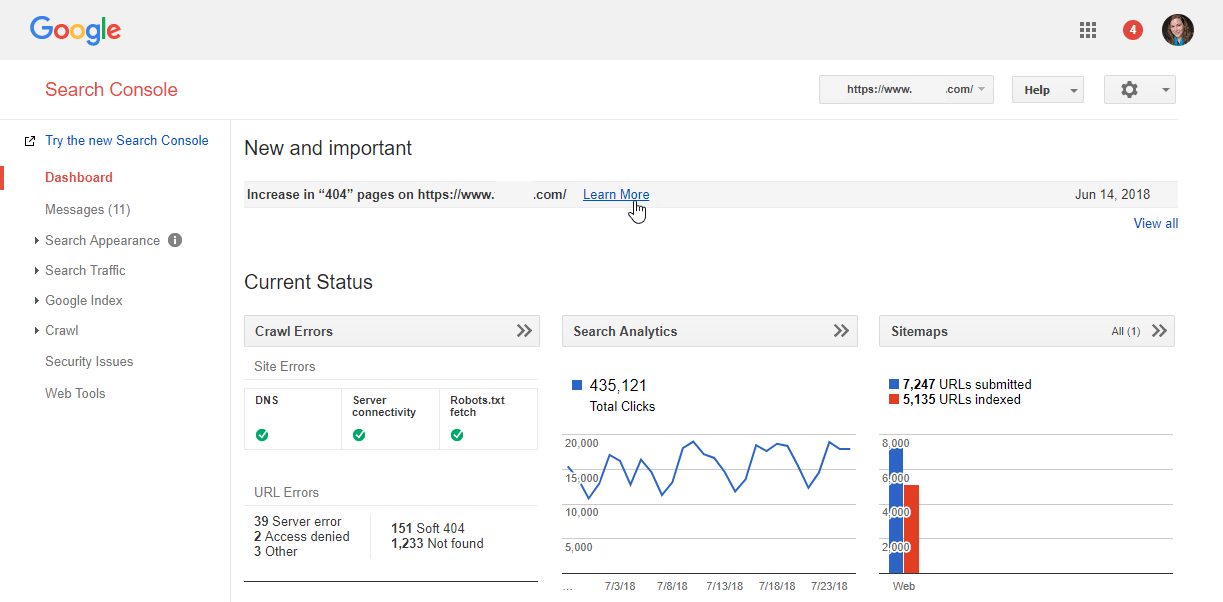Search Console Is the Gateway to Google's SEO Data