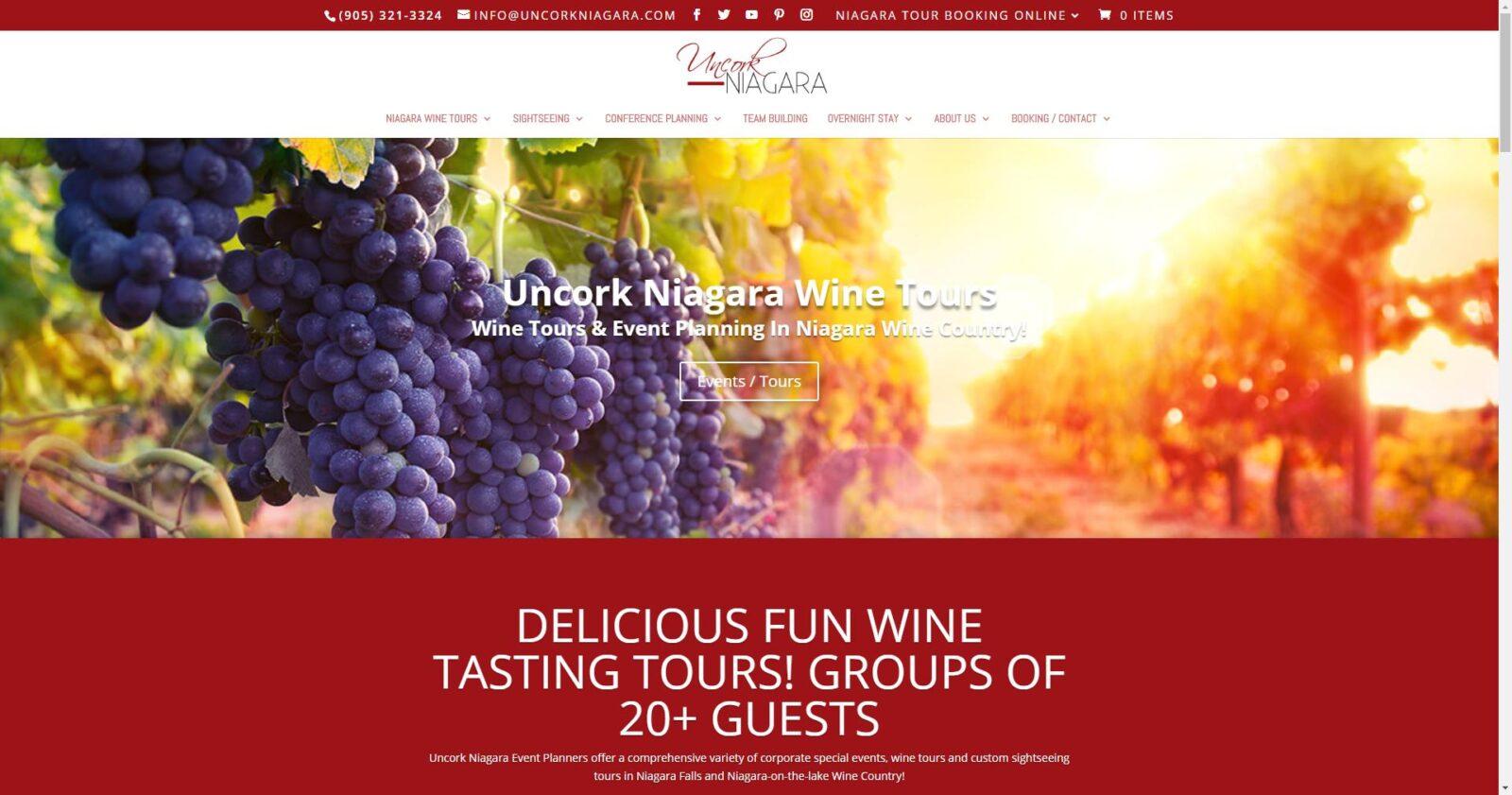 Uncork Niagara Wine Tours