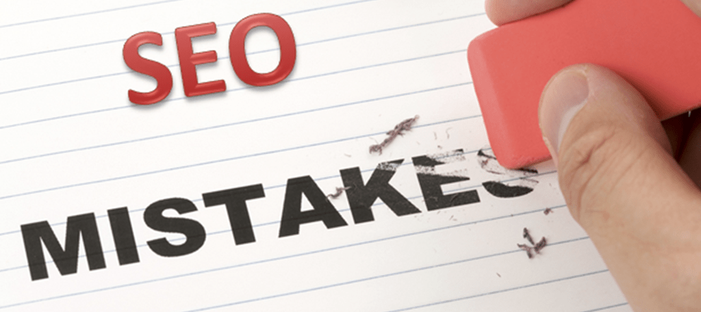 common mistakes that jeopardise SEO strategies