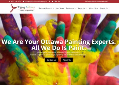 Flying Colours Painting