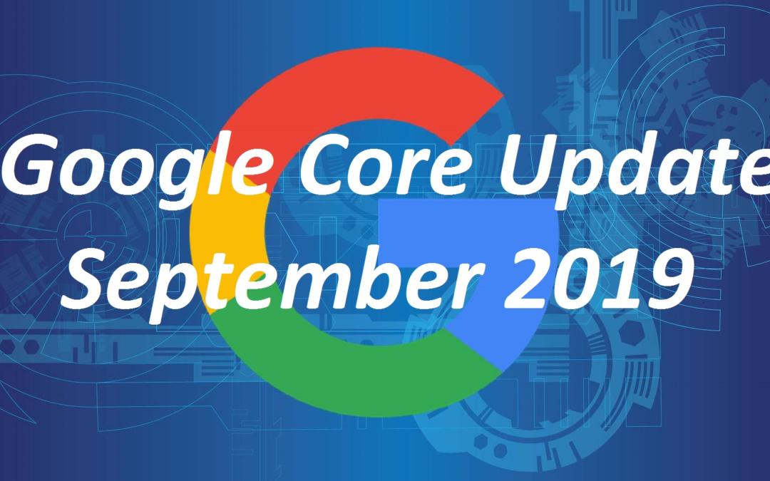 Latest Google Core Update