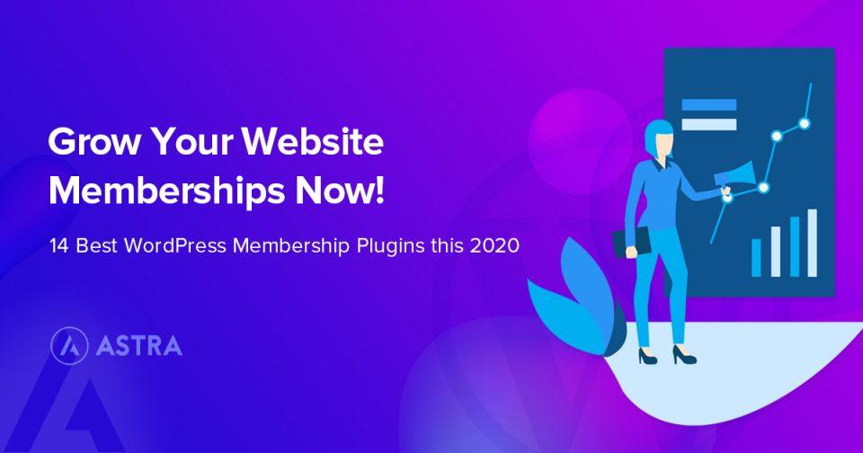 WordPress Membership Plugins to Grow Your Website in 2020