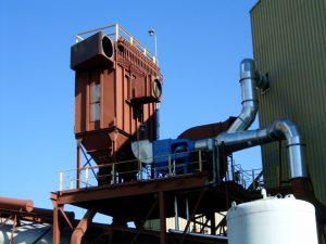 16,000 CFM Englo Wet Dust Extractor