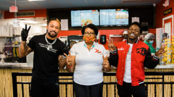 Miami Dolphins' Albert Wilson and recording artist Jackboy partner for South Florida youth