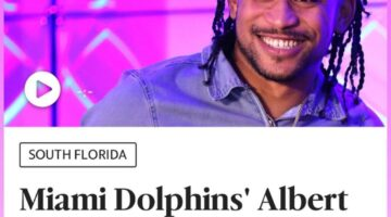 Miami Dolphins' Albert Wilson spreads the word on anti-trafficking ahead of Super Bowl LIV