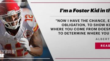 I'm a Foster Kid in the NFL
