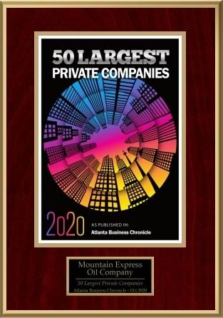 50 Largest Private Companies - Mountain Express Oil Company