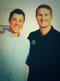 With Ryan Hunter-Reay