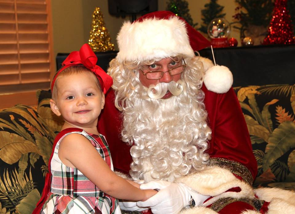 2017 Holiday Party with the Children's Cancer Center