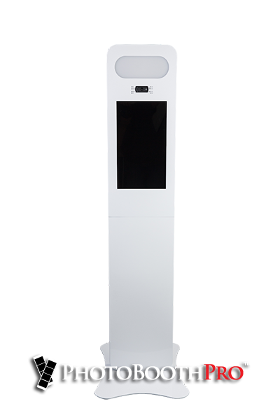 Selfie Light All In One Photo Booth Kiosk Front