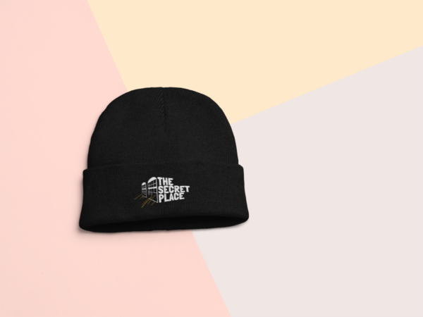 The Secret Place Beanie in Black