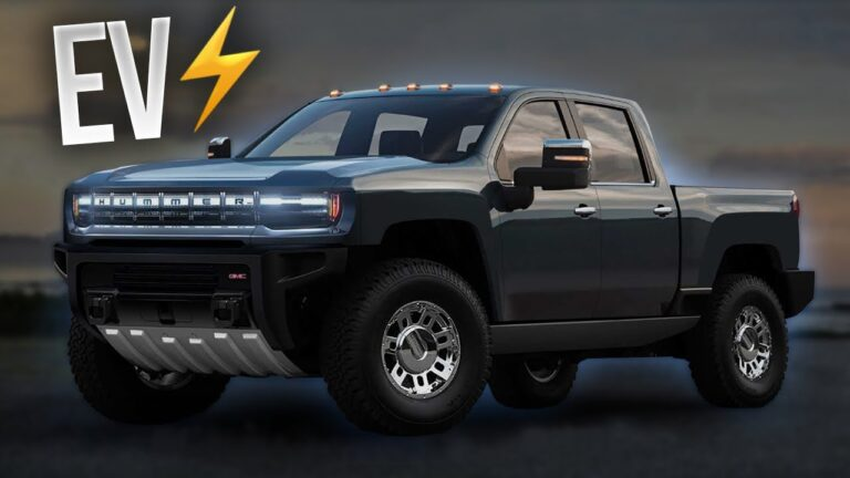 New Hummer EV will be Electric