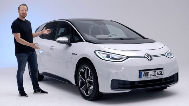 Volkswagen ID.3 became the most popular electric car in Europe in October (video)