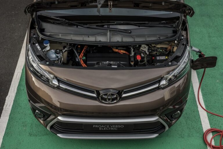 Toyota presented a cargo-passenger version of the ProAce Verso electric van.