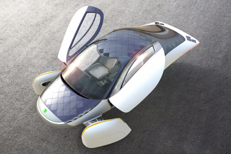 Aptera Motors will release solar-powered electric car (video)