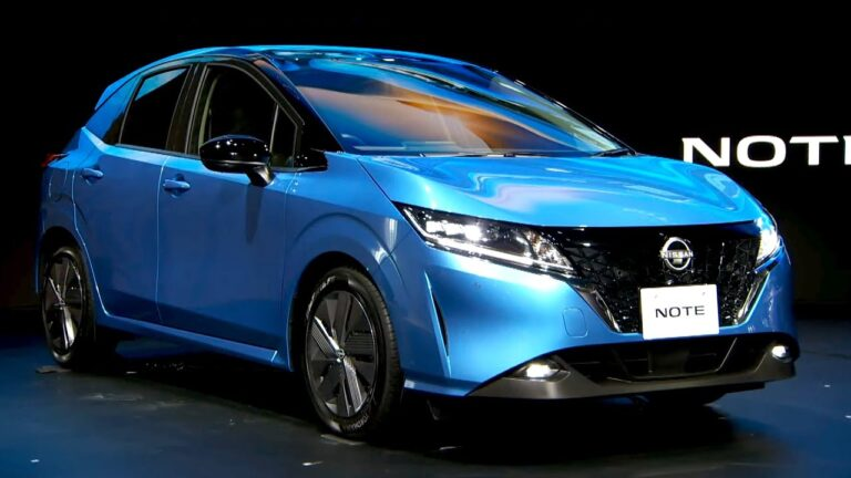 New Nissan Note Became Hybrid (video)