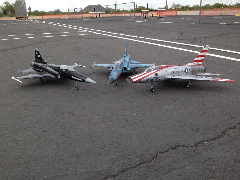 F-100 Super Sabre & F-20 Tigersharks
