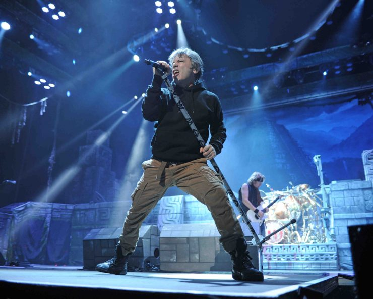 Iron Maiden Live 2016 LM 217