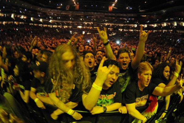 FORT LAUDERDALE FL - FEBRUARY 24: Atmosphere during the Iron Maiden opening night of The Book Of Souls tour at The BB&T Center on February 24, 2016 in Fort Lauderdale, Florida. : Credit Larry Marano © 2016