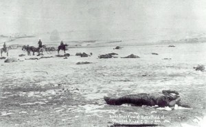 Wounded Knee Massacre--250 murdered