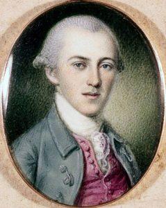 Charles Willson Peale, Portrait of Alexander Hamilton, ca. 1780, courtesy of Columbia University.