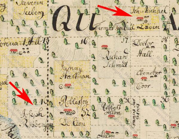 Cronenberg map, 1749/1750, James Ash and John Michael Lavien