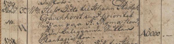 William Iles Jr. mortgage January 1759