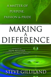 Making a Difference: A Matter of Purpose, Passion & Pride