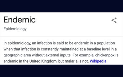 Pandemic into Endemic: COVID is Here to Stay (and that's okay) – Andrew Busch