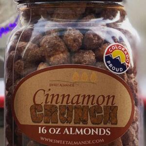 roasted cinnamon and vanilla nuts