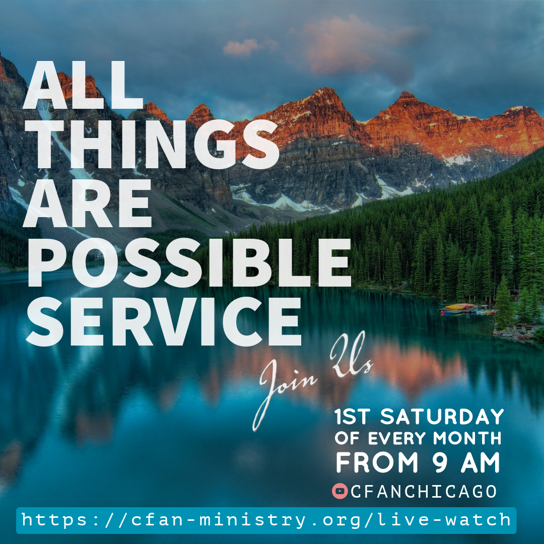 All Things Are Possible - CFAN