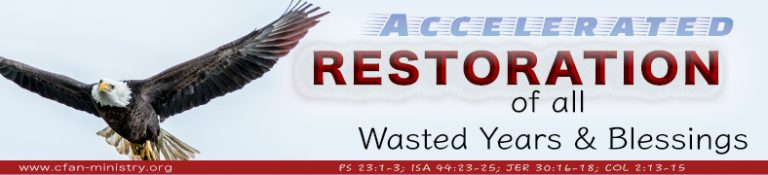 Read more about the article Accelerated Restoration Of All Wasted Years And Blessings