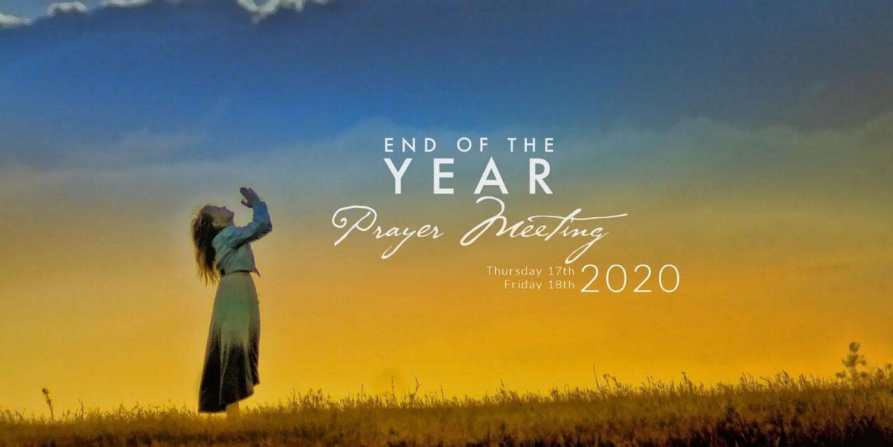 End Year Prayer Meeting