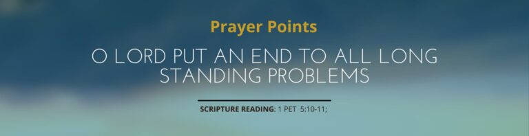 Read more about the article 3 Days Fasting & Prayer – Day 3